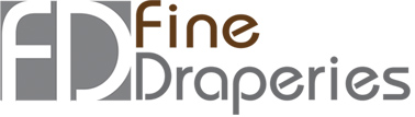 Custom Draperies, Window Coverings & Bedding | Fine Drapes Logo